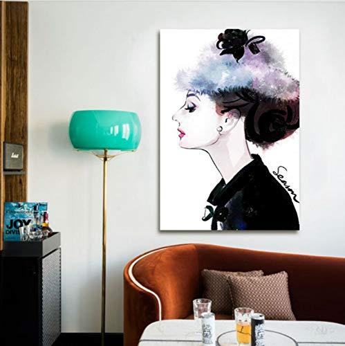 Dirart Frameless Digitale Verf Door Nummers Diy Digitale Schilderen Schoonheid Vrouwen Kleurplaten Door Nummers Pop Start 40X60Cm