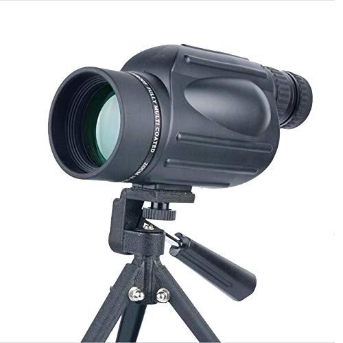 Telescopio Monocular con Zoom Súper Teleobjetivo 10-300x40mm, Recubrimiento Multicapa Verde Fmc Monoculares,Impermeable Y A Prueba De Niebla Monoculares Nocturnos para Caza