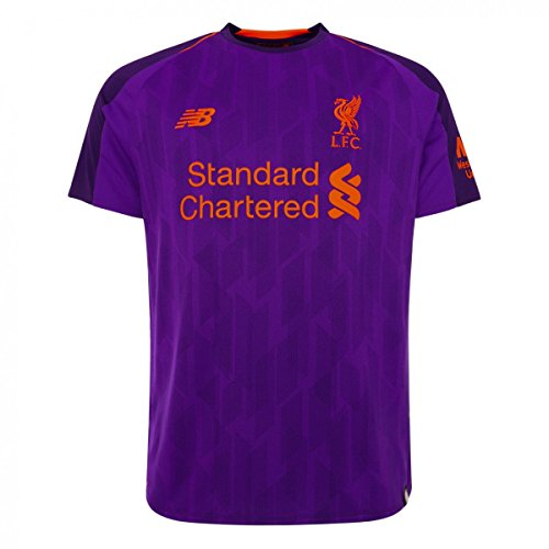Liverpool Kid's 2018/2019 Away Soccer Jersey (Small) Deep Violet