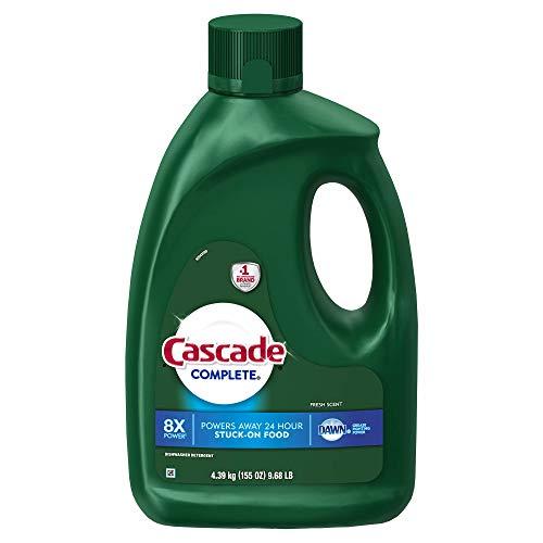 Cascade Complete Gel Dishwasher Detergent, Fresh Scent, 155 oz.- 2 Packs