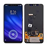 SwarKing Super AMOLED Replacement Compatible with Xiaomi Mi 8 Pro (Black Without Frame) LCD Display Touch Screen Digitizer Assembly with Repair Tools
