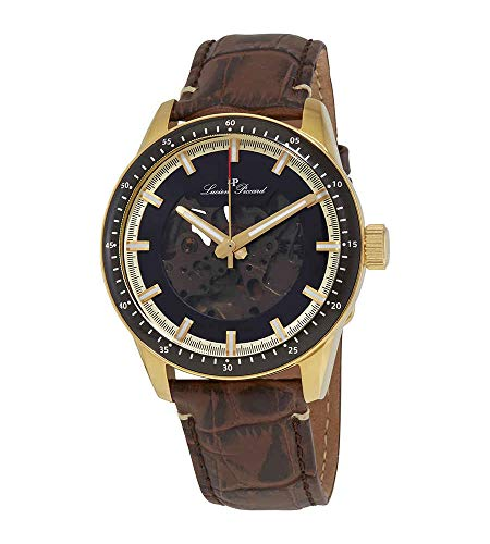 Lucien Piccard Automatic Black Dial Men's Watch 1297A2