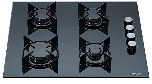 MILLAR GH6040XEB-ET 60cm 4 fornelli in vetro piano cottura a gas
