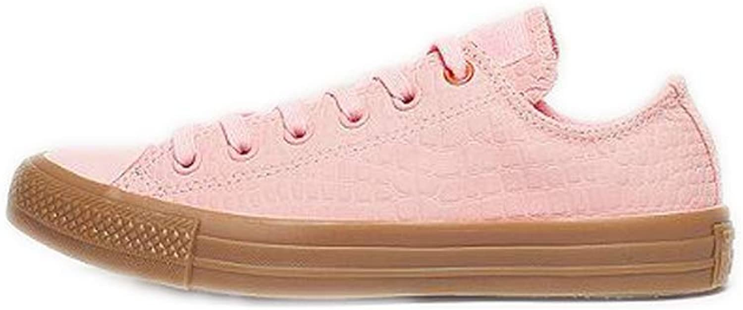 Converse Unisex CTAS OX Trainers (157297C) Pink