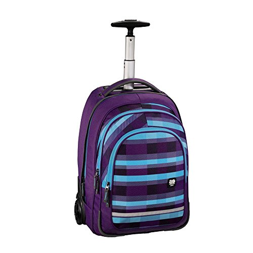 All Out Bolton Trolley Sac à Dos Summer Check Purple Summer Check Purple