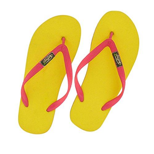 Feelfine\'z: Canaria, gelb – pink, 41/42