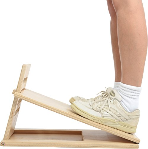 Msd Tafel Stretching hout met SCALETTE - Verstelbaar 4 poten, Ischio WOODEN INCLINE BOARD - LADDER