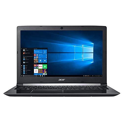 Acer Aspire 3 A315-53-52CF 15.6' Laptop Computer - Black Intel Core i5-8250U Processor 1.6GHz; Microsoft Windows 10 Home; 4GB DDR4 Onboard RAM; 1TB 5,400RPM Hard Drive