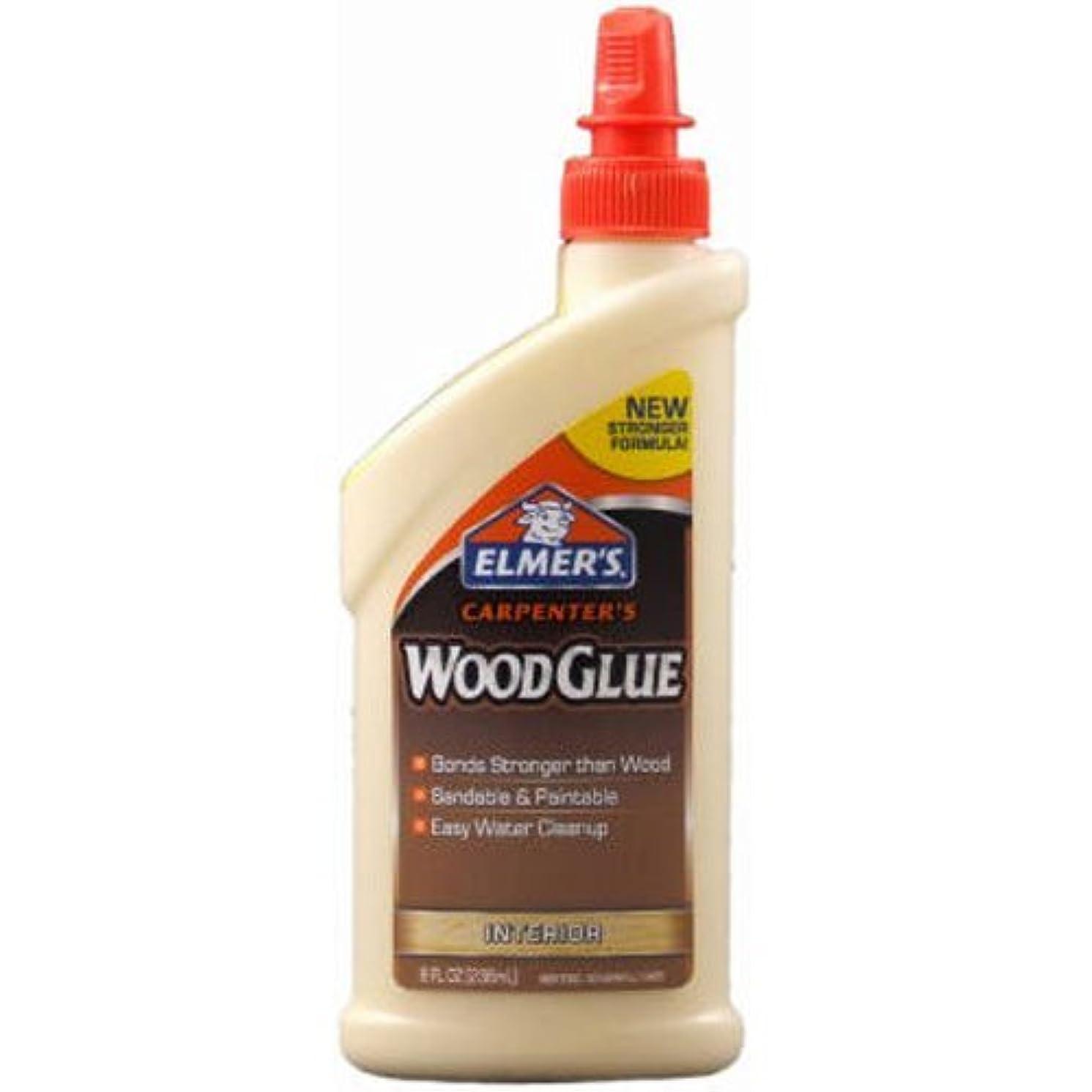 Elmer's E7010 Carpenter's Wood Glue, Interior, 8 Ounces by Elmer's