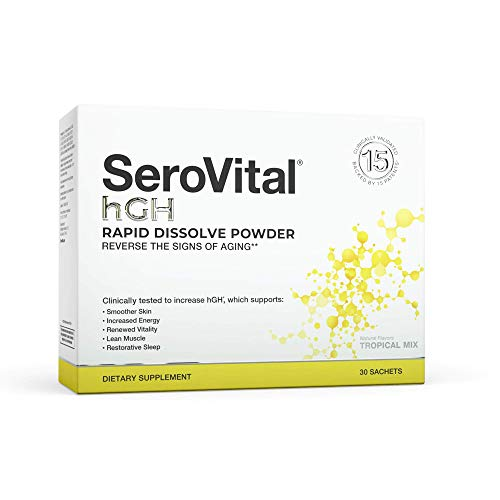 SeroVital Rapid Dissolve Powder, 30 Ct, Tropical Mix