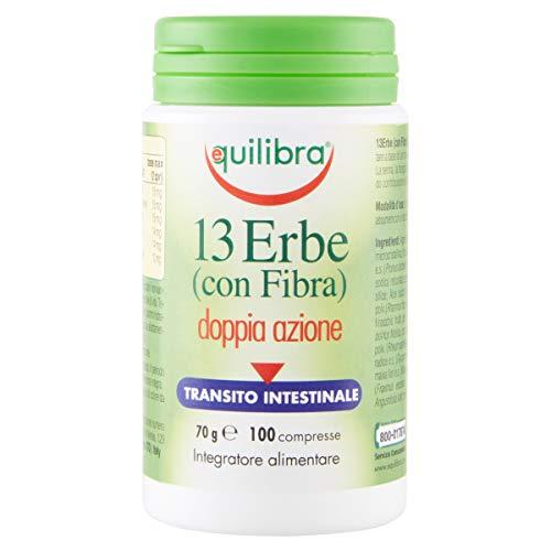 Equilibra - 13 Erbe con Fibra, 100 Compresse