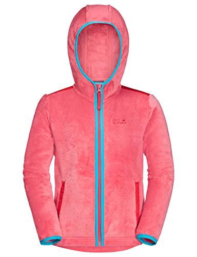 Jack Wolfskin Kinder NEPALI JACKET KIDS Fleecejacke, Coral pink, 128