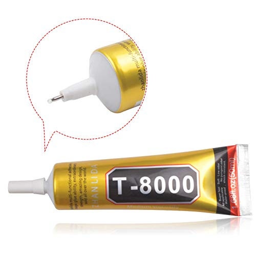 Baost Multi-Purpose 50ml Clear Medium Viscosity Adhesive Glue for Jewelry Making Handicrafts, Watch Repair, Phone Screen Glass, DIY Crafts, Instant Adhesive, Waterproof M