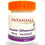 Patanjali Divya Neem Ghan Vati for Clear Acne & Pimples 40gm(pack of 2) - Pamherbals®