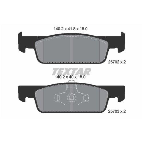 TEXTAR 2570201 Pastiglie