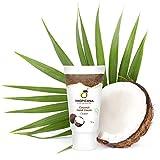 Tropicana Oil Hand Creme mit kaltgepresstem nativem Kokosöl 50g | Feuchtigkeitspflege für schöne Haut Handlotion mit Kokosöl | Glutenfrei&ohne Tierversuche | Natürliche Handpflege | Naturkosmetik