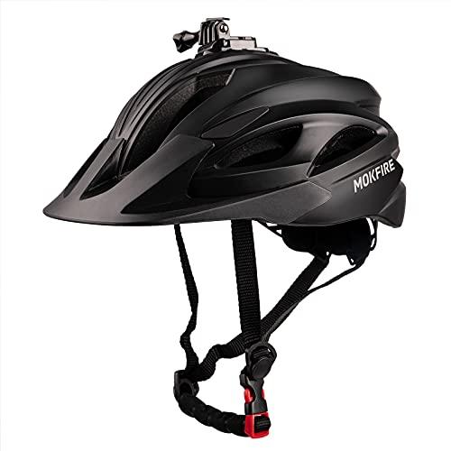 Mountain Bike Helmet with Camera Mount &...
