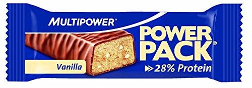 Multipower - Barrita 27% de proteína power pack - chocolate y vanilla