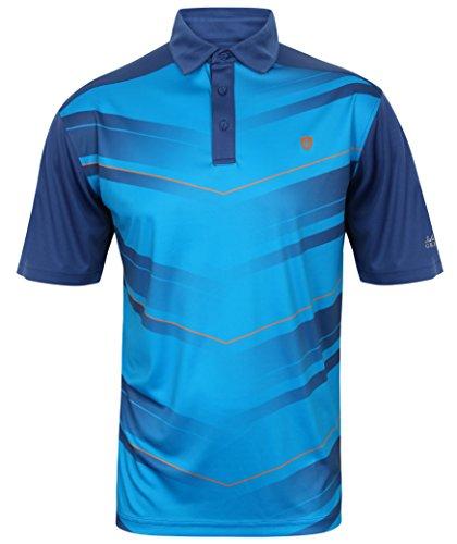 Island Green Hochwertiges Polo-Shirt Marke Gr. 56, 1658 - Navy für Golf oder Freizeit; sportlicher Look atmungsaktives Funktionsmaterial; verschiedenen Modelle und Farben