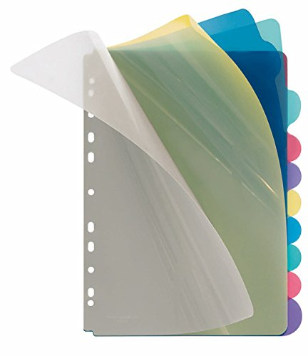 Veloflex 4248800Divider–Dividers (Mehrfarbig, Polypropylene (PP), A4)