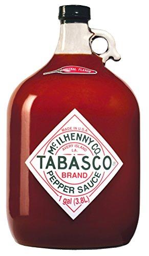 Tabasco Pepper Sauce - 3780 ml / 3,78 Liter / 1 Gallone Glasflasche - original - 100% natürliche Inhaltsstoffe - scharfe Chili-Sauce