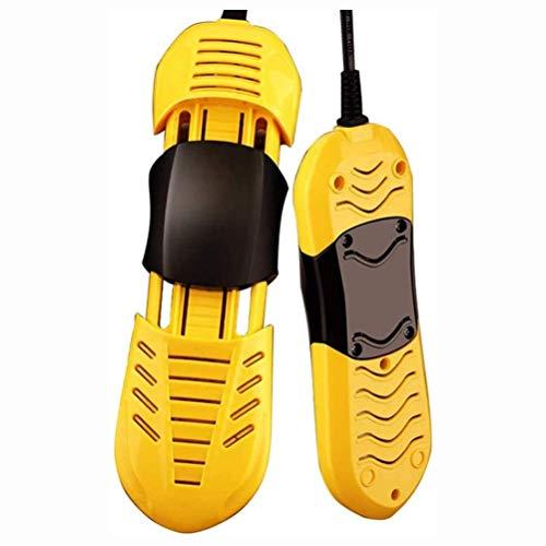 GPWDSN Calzado eléctrico Botas Secador Calentador Calzado portátil Calentador Eliminador de olores para Calcetines Oficina en casa Hotel Coche, la mayoría de Tipos de Calzado