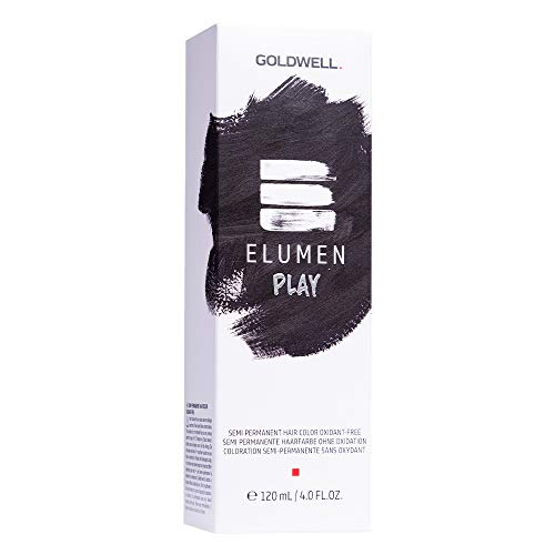 Goldwell Elumen Play Semi-Permanente Haarfarbe Tönung - Schwarz 120ml