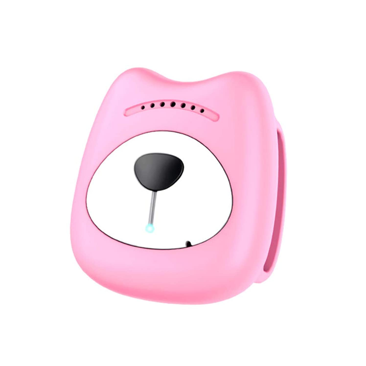 HUAXING 2019 New GPS Pet Locator Dog Mini Tracker Waterproof Anti-Lost Smart Collar Pet Positioning Pet Finder Necklace Mobile Remote,Pink