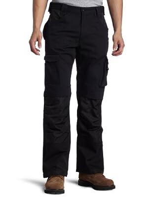 Caterpillar Men's Trademark Pant (Regular and Big & Tall Sizes), Black, 36W x 30L