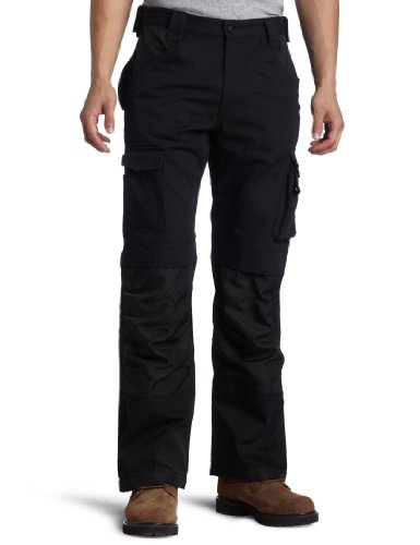 Caterpillar Men's Trademark Pant (Regular and Big & Tall Sizes), Black, 34W x 30L