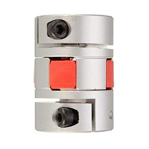 LHQ-HQ Partes de la Impresora 3D, Aluminio Eje Flexible de 10 mm x14mm Acoplamiento del acoplador del Motor Paso a Paso Conector Motor eléctrico