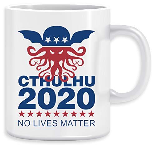 Cthulhu 2020 No Lives Matter Kaffeebecher Becher Tassen Ceramic Mug Cup