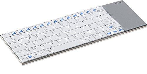 Rapoo E2700 draadloos Touchpad-toetsenbord - Black_spig9PARENT