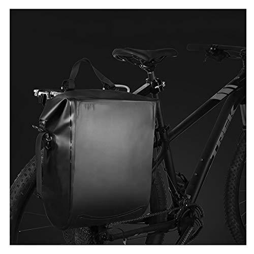 Best Buy! Bike Panniers Rack Trunks Bicycle Rear Seat Duffel Bag, Long Distance Waterproof Mountain ...
