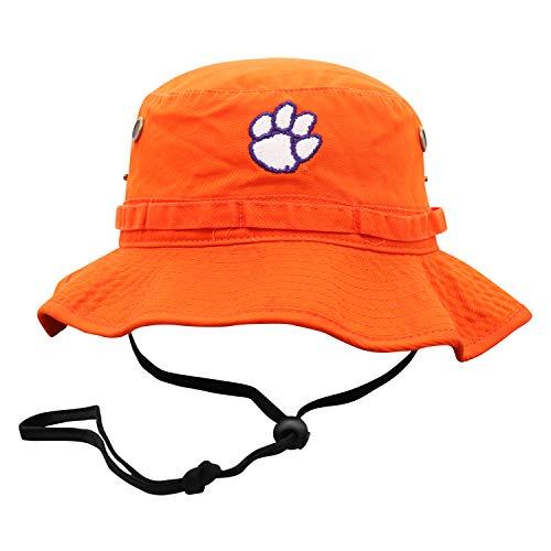 Top of the World Clemson Tigers Men's Adjustable Team Icon Bucket Hat, Adjustable