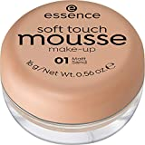 ESSENCE Soft Touch Mousse maquillaje  01 Matt Sand