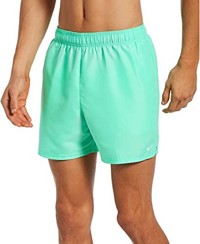 Nike Volley - Costume da Bagno da Uomo, Uomo, Costume da Bagno, NESSA560-315, Verde (Green Glow), XS