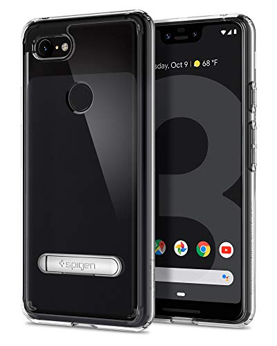 Spigen Ultra Hybrid S Designed for Google Pixel 3 XL Case (2018) - Crystal Clear