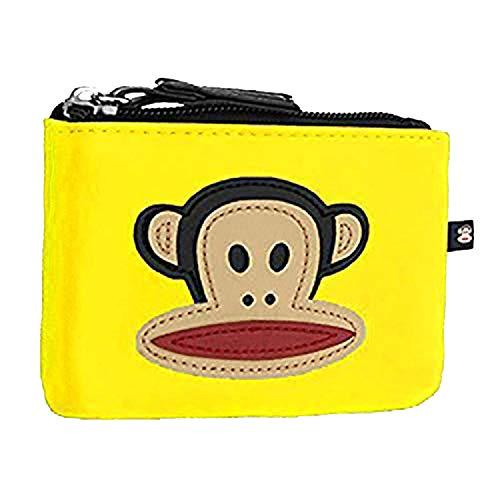 Paul Frank Julius The Monkey Unisex Kunstleder Geldborse Gelb