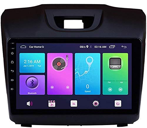 9 pulgadas IPS Pantalla táctil Auto SAT Coche STERE STC STC Online / Offline Map Mult Multimedia Player GPS Head Unit NAVEGACIÓN Android 9.0 Compatible para Isuzu D-MAX 2015-2018,8 core 4G+WiFi 2+32GB