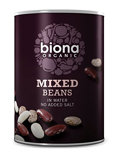 Biona Organic Canned Mixed Beans 400 g (Pack of 12)