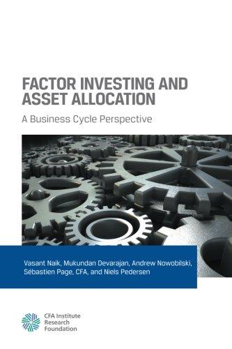 Fator de investimento e alocação de ativos: uma perspectiva de ciclo de negócios