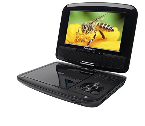 MEDION LIFE P72029 MD 84374 17,78cm (7 Zoll) portabler DVD-Player (TFT LCD Display, DVB-T Tuner, 4-in-1 Kartenleser, Wiedergabe von MP3-Dateien) schwarz