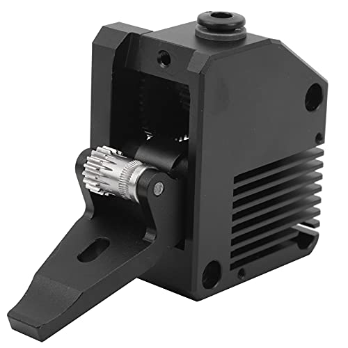 Dual Gear Extruder 3D Printer Upgrade Extruder Dual Driver Metal Extruder Kit for 1.75mm Wearing Parts(Right Hand)