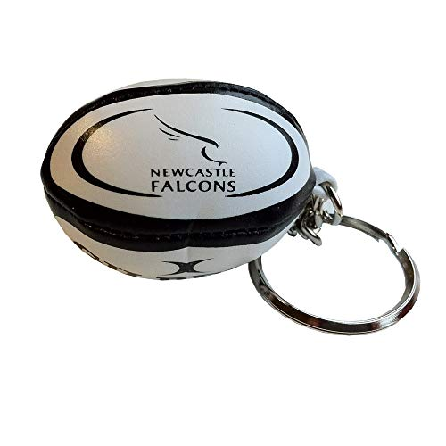 GILBERT newcastle falcons rugby ball key ring