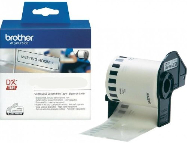 Endlosrolle 62mm P-Touch QL 570 Brother Etiketten Transparent 62 mm x 15, 24 meter, Film, 1 Endlosetikett, DK Label für Ptouch QL570 B003UR2XVO  | Meistverkaufte weltweit