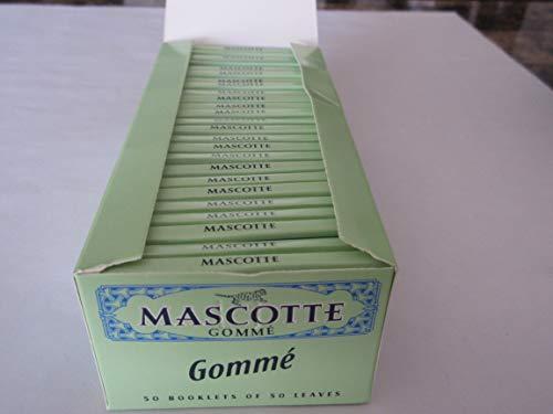 Mascotte Cartine Gommè Corte-Scatola da 50 Libretti, Gelb, s