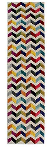 Flair Rugs Spectrum Bolero Runner, Multi, 60 x 230 Cm