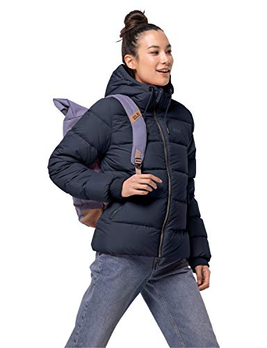 Jack Wolfskin Damen Crystal Palace Jacket W Daunenjacke, Midnight Blue, XS