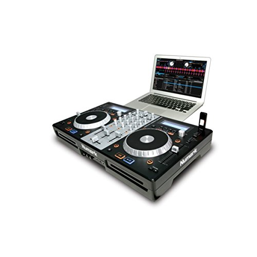 Numark MixDeck Express | Premium DJ Controller with CD & USB Playback [2011 Model]